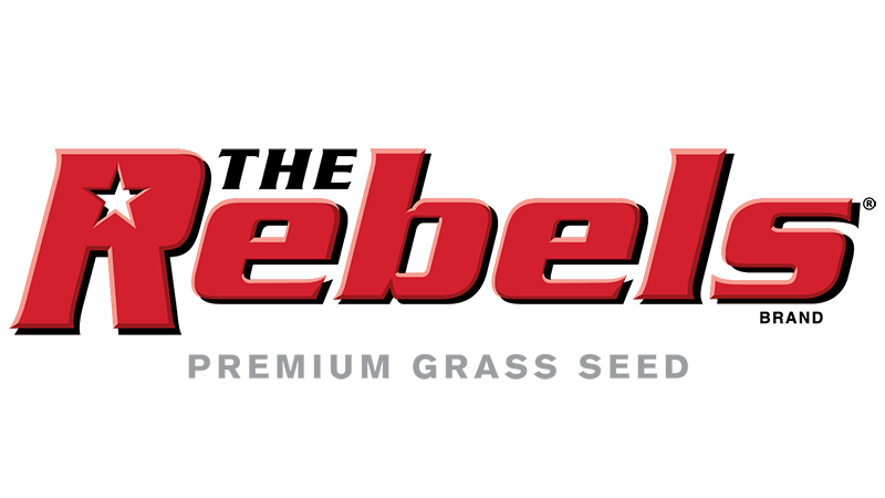 the rebels brand premium grass seed